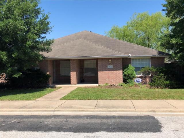 941-943 Sun Meadow Street, College Station, TX 77845 (MLS #18008952) :: Cherry Ruffino Realtors