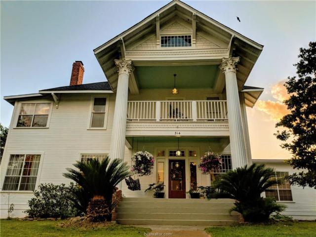 314 N Calvert Street, Franklin, TX 77856 (MLS #18009618) :: Amber Dawn Cox Realty Group