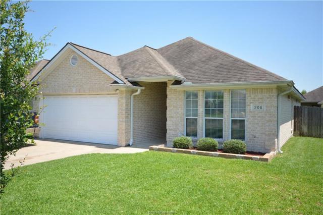 908 Gardenia Street, College Station, TX 77845 (MLS #18009696) :: RE/MAX 20/20