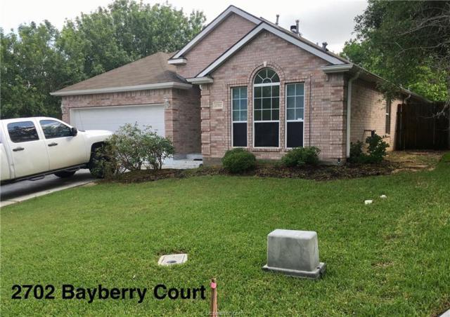 2702 Bayberry Court, Bryan, TX 77807 (MLS #18010161) :: RE/MAX 20/20