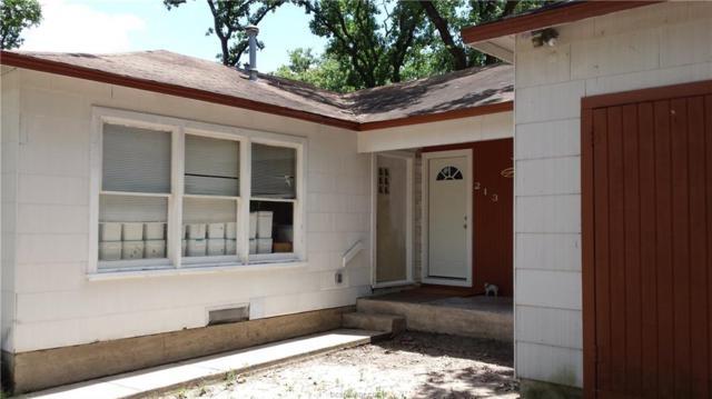 213 Fairway Drive, Bryan, TX 77801 (MLS #18012425) :: RE/MAX 20/20