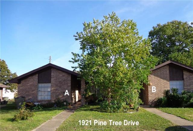 1921 Pine Tree Drive A & B, Bryan, TX 77802 (MLS #18018626) :: RE/MAX 20/20