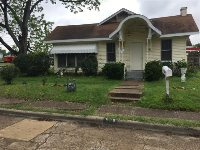800 N Houston, Bryan, TX 77803 (MLS #18018908) :: Chapman Properties Group