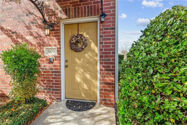 801 Luther Street #605, College Station, TX 77840 (MLS #18018958) :: The Shellenberger Team