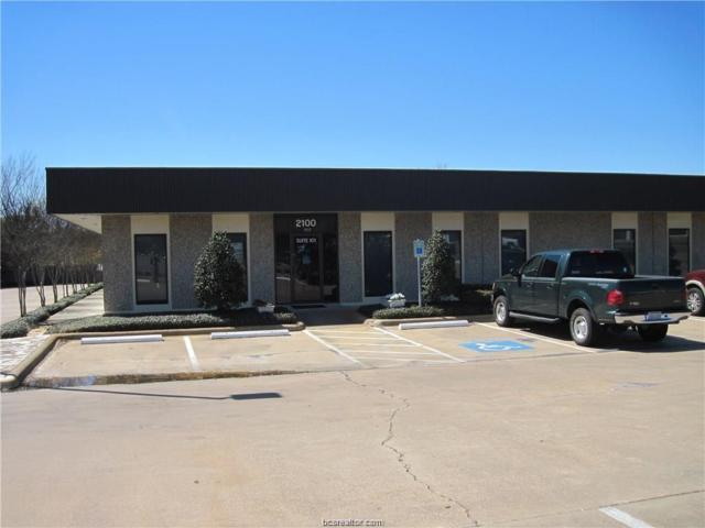 2100 E Villa Maria Road #100, Bryan, TX 77802 (MLS #18019031) :: The Shellenberger Team