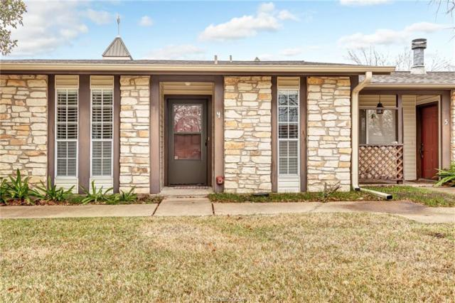 2100 Windsor Drive #4, Bryan, TX 77802 (MLS #19001794) :: The Lester Group