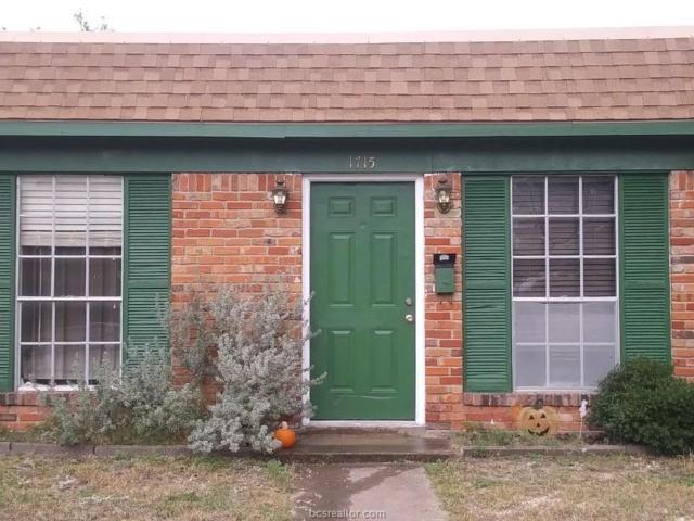 1715 Welsh, College Station, TX 77840 (MLS #19002325) :: The Shellenberger Team