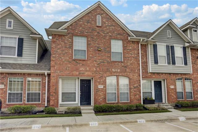 1001 Krenek Tap #1602, College Station, TX 77840 (MLS #19002463) :: The Shellenberger Team