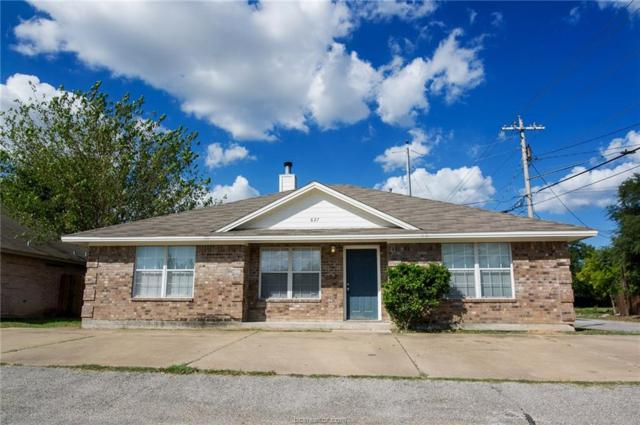 827 Avenue A, College Station, TX 77840 (MLS #19002527) :: The Lester Group