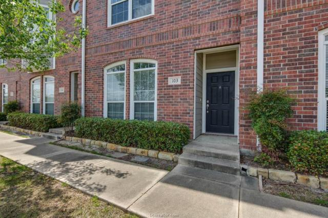 1198 Jones Butler Road #103, College Station, TX 77840 (MLS #19003908) :: The Lester Group