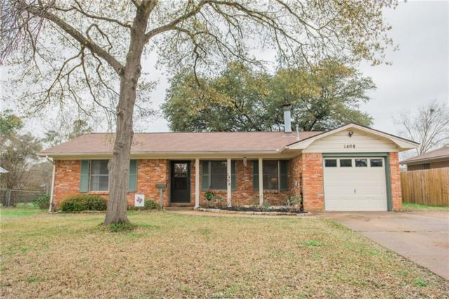 1408 Esther, Bryan, TX 77802 (MLS #19003963) :: Treehouse Real Estate