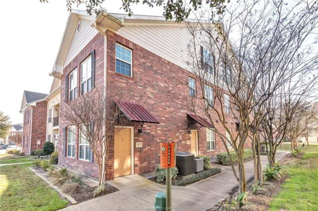 801 Luther Street #1401, College Station, TX 77840 (MLS #19003967) :: Treehouse Real Estate