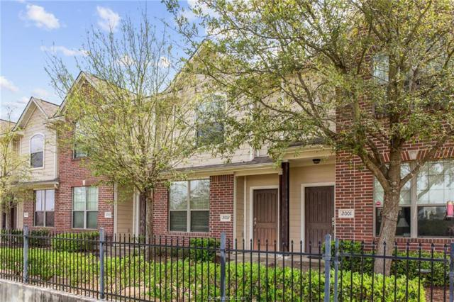 1000 Spring #1105, College Station, TX 77840 (MLS #19004025) :: NextHome Realty Solutions BCS