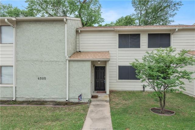 4505 Carter Creek Parkway #3, Bryan, TX 77802 (MLS #19006792) :: The Lester Group