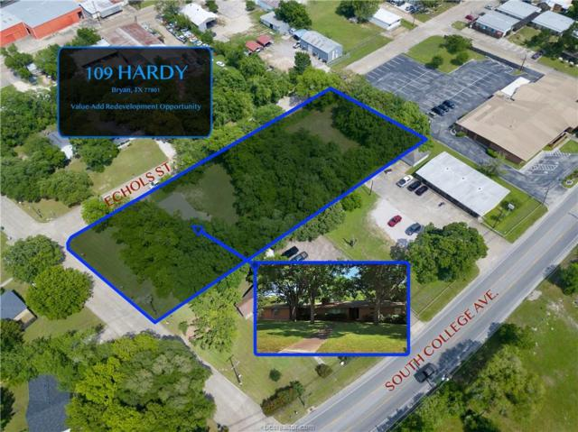 109 Hardy Street, Bryan, TX 77801 (MLS #19007882) :: The Lester Group
