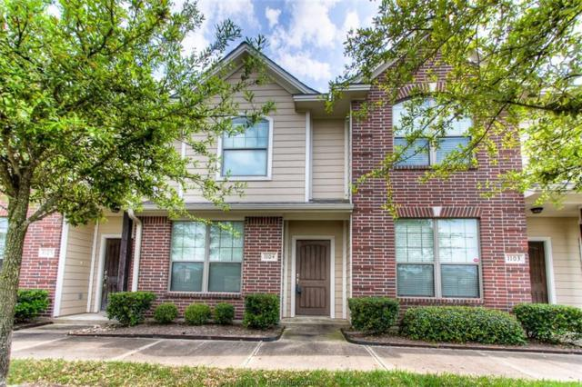 1000 Spring Loop #1104, College Station, TX 77840 (MLS #19008227) :: NextHome Realty Solutions BCS