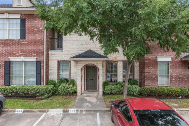 445 Forest Drive #445, College Station, TX 77840 (MLS #19008258) :: The Lester Group