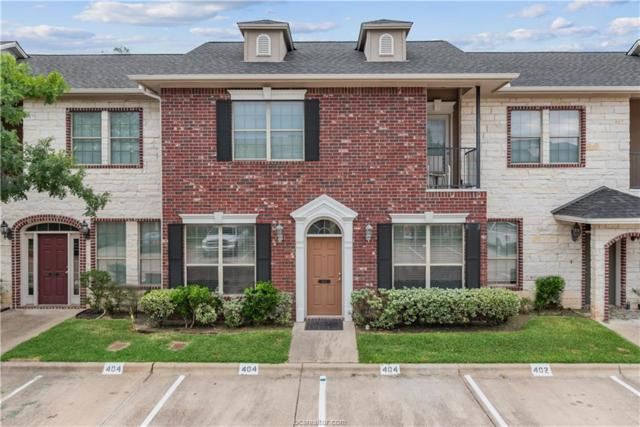 404 Forest Drive #404, College Station, TX 77840 (MLS #19009605) :: The Shellenberger Team