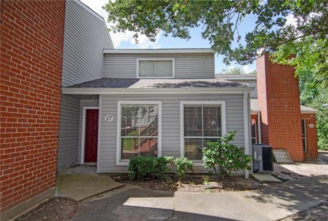 1500 Olympia #27, College Station, TX 77840 (MLS #19010473) :: Treehouse Real Estate