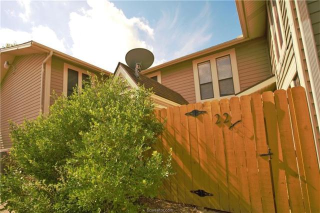2101 Barak Lane #22, Bryan, TX 77802 (MLS #19010765) :: Chapman Properties Group