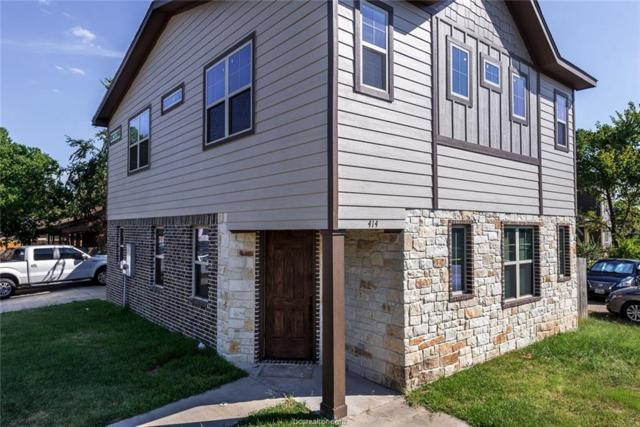 414 Holleman Drive, College Station, TX 77840 (MLS #19010905) :: Cherry Ruffino Team