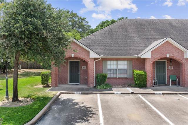 1702 Deacon Drive #207, College Station, TX 77845 (MLS #19014242) :: NextHome Realty Solutions BCS