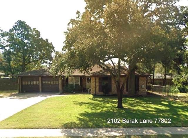 2102 Barak Lane, Bryan, TX 77802 (MLS #19014272) :: RE/MAX 20/20