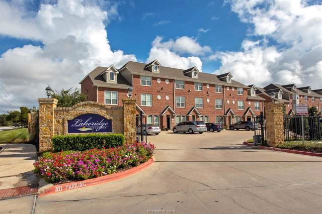 1198 Jones Butler Road #606, College Station, TX 77840 (MLS #19014647) :: The Lester Group