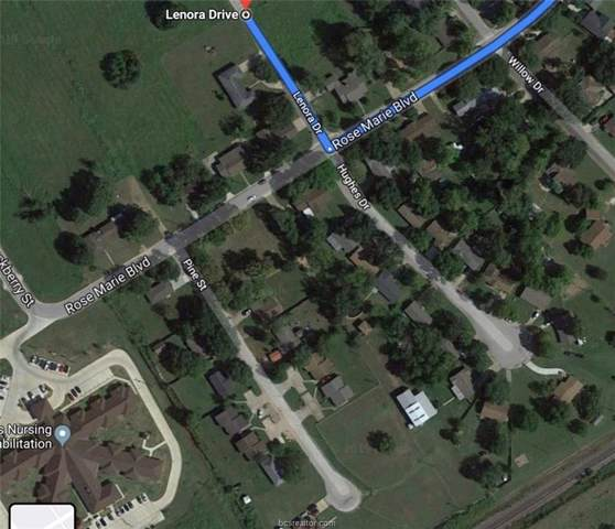 Lot 10 Pine Street, Hearne, TX 77859 (MLS #19014820) :: The Lester Group
