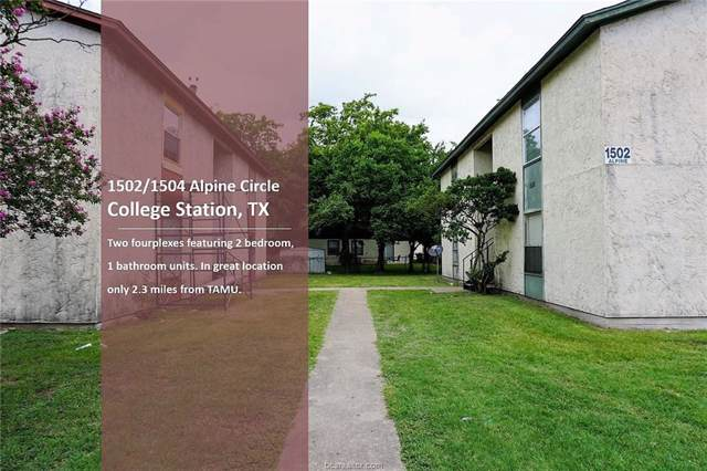 1502-1504 Alpine Circle A-D, College Station, TX 77840 (MLS #19014967) :: The Shellenberger Team