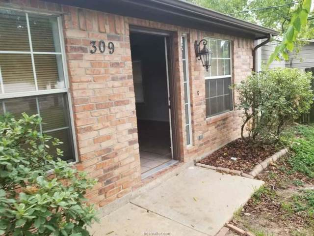 309 Ehlinger, Bryan, TX 77802 (MLS #19015172) :: RE/MAX 20/20