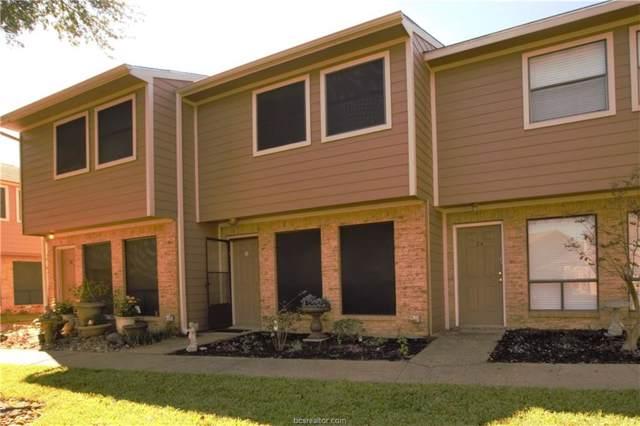 2807 Wildflower Drive #25, Bryan, TX 77802 (MLS #19016914) :: Treehouse Real Estate