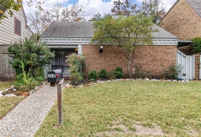 2810 Briarcreek Court, Bryan, TX 77802 (MLS #19017086) :: Chapman Properties Group