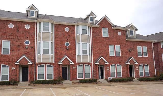 1198 Jones Butler #1811, College Station, TX 77840 (MLS #20000018) :: RE/MAX 20/20