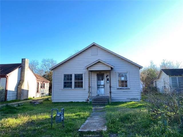 1109 Ettle Street, Bryan, TX 77803 (MLS #20000053) :: Chapman Properties Group