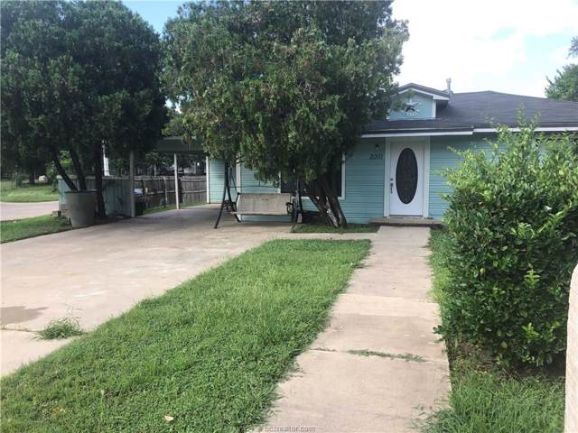 2001 Orman Street, Bryan, TX 77801 (MLS #20000165) :: The Shellenberger Team
