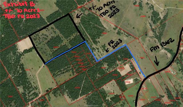 TBD (+/- 70 Acres) Private Road 2023, Caldwell, TX 77836 (MLS #20000500) :: Treehouse Real Estate
