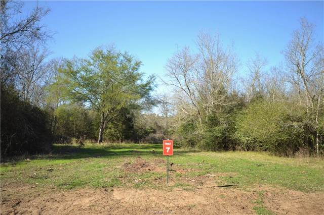 13083 Osr Road Lot 7 (6.94 Acr, Hearne, TX 77859 (MLS #20000727) :: Treehouse Real Estate