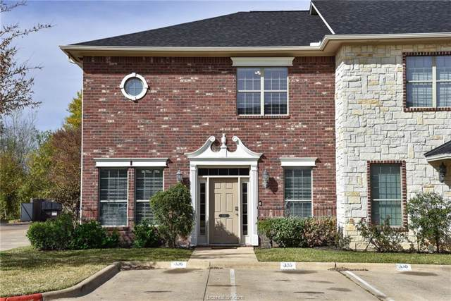 336 Forest Drive #336, College Station, TX 77840 (MLS #20000809) :: NextHome Realty Solutions BCS