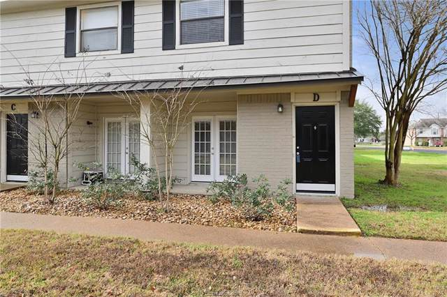 1408 Summit Street D, College Station, TX 77845 (MLS #20001409) :: Chapman Properties Group