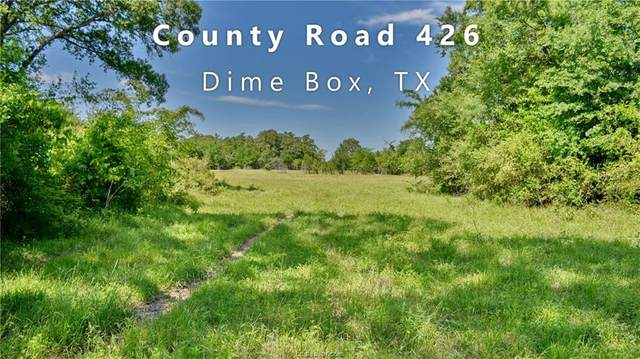 TBD (74.73 Acres) County Road 426, Dime Box, TX 77853 (MLS #20005702) :: Treehouse Real Estate