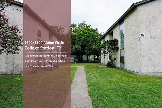 1502-1504 Alpine Circle A-D, College Station, TX 77840 (MLS #20007253) :: The Lester Group