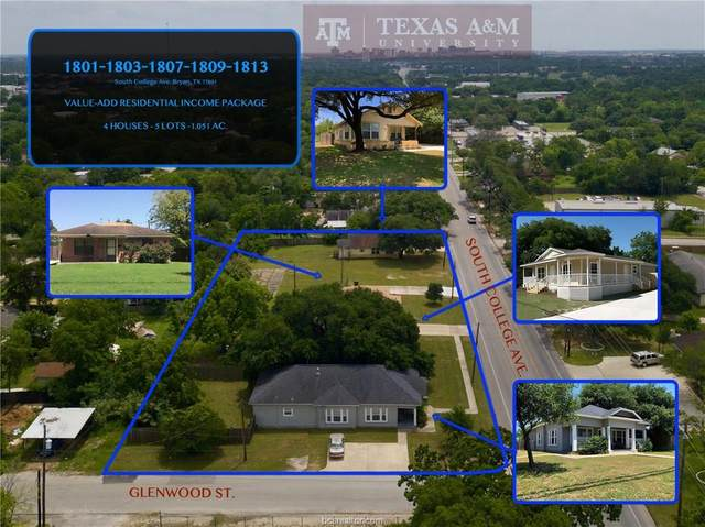 1801,1803,1807,1809, South College Avenue, Bryan, TX 77801 (MLS #20008580) :: RE/MAX 20/20