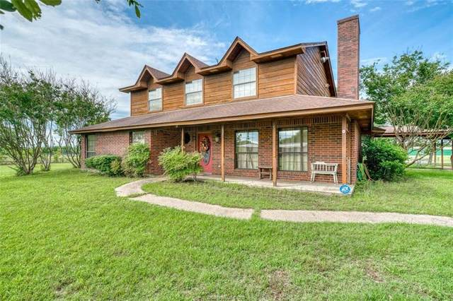 120 Cedar Way, Normangee, TX 77871 (MLS #20009085) :: Treehouse Real Estate