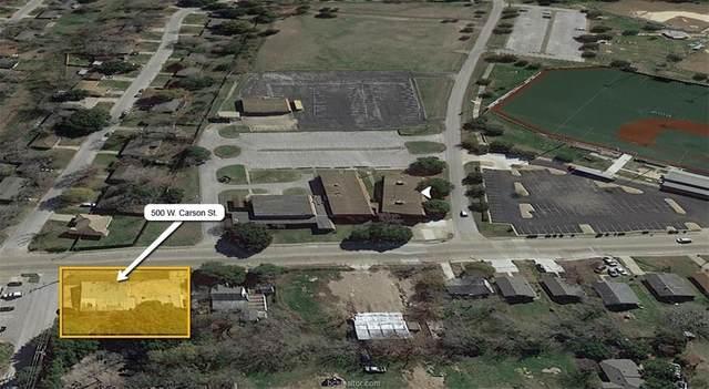 500 W Carson Street, Bryan, TX 77801 (MLS #21000223) :: My BCS Home Real Estate Group