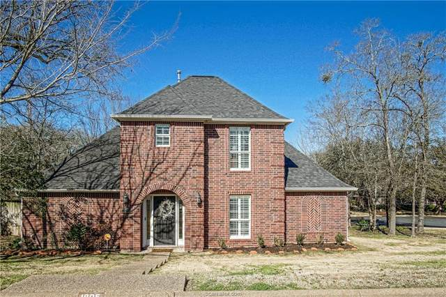 1805 Amber Ridge Drive, College Station, TX 77845 (MLS #21001995) :: NextHome Realty Solutions BCS