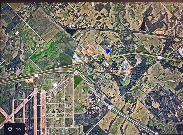 7790 W State Highway 21, Bryan, TX 77807 (MLS #21002142) :: RE/MAX 20/20