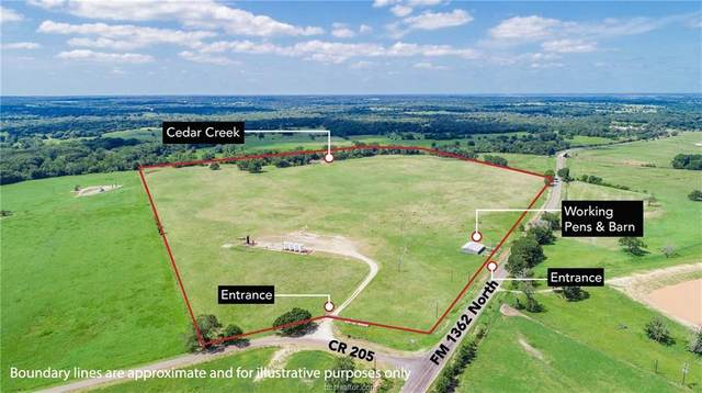 TBD (+/- 89 acres) County Road 205, Caldwell, TX 77836 (MLS #21008140) :: The Lester Group