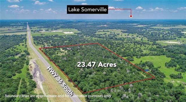 10144 Hwy 36 (23.47 Ac), Somerville, TX 77836 (MLS #21008196) :: BCS Dream Homes