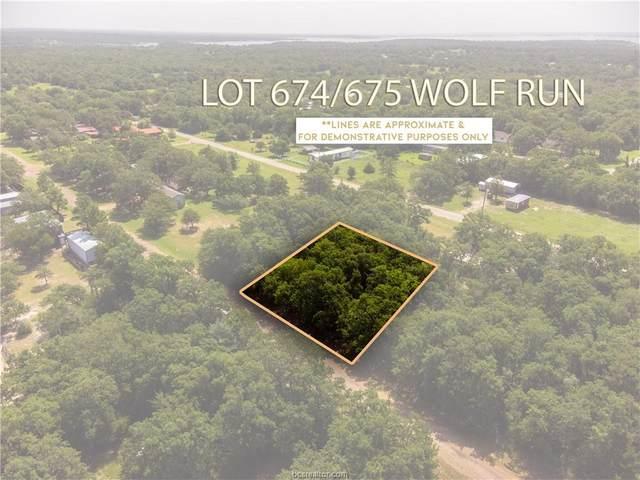 Lot 674/675 Wolf Run St, Somerville, TX 77879 (MLS #21010631) :: My BCS Home Real Estate Group